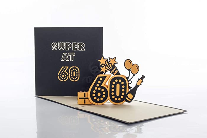 60th Birthday Card For Women And Men
