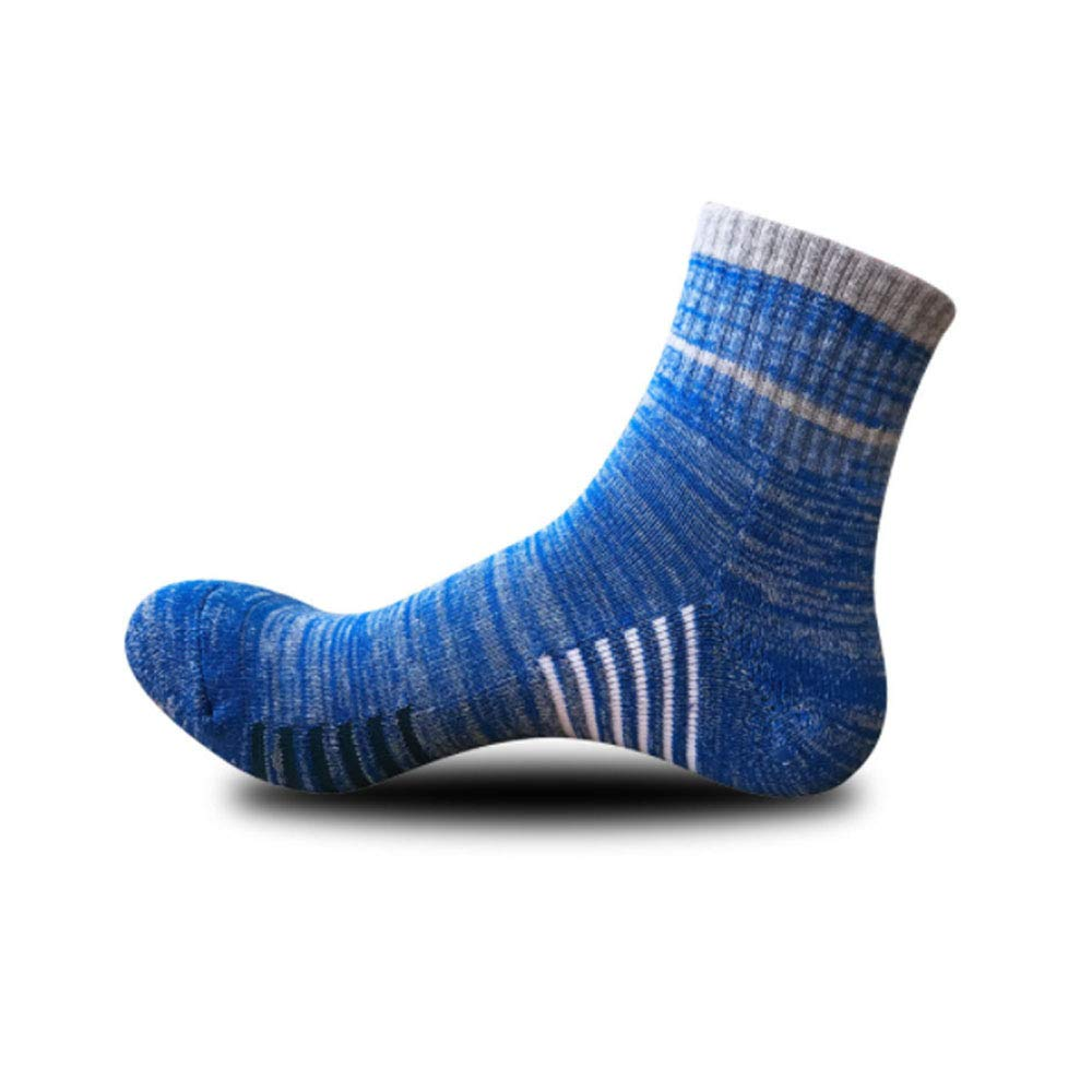 5 Pack Mens Socks,Cotton Rich Sports Running Socks for Men One size 6-11 Breathable Comfortable