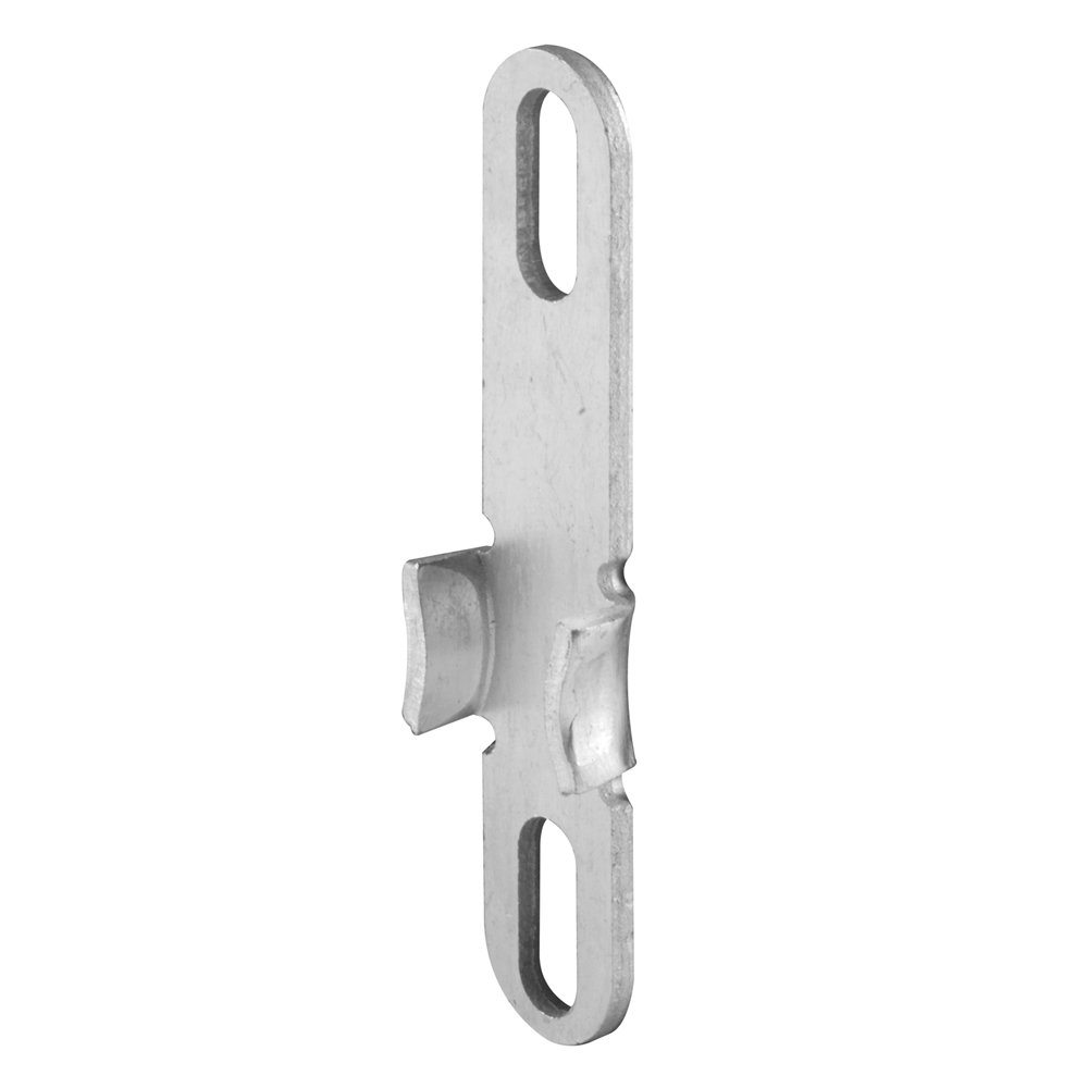 Prime-Line Products H 3545 Universal Casement Window Lock Keeper, Aluminum,(Pack of 2)