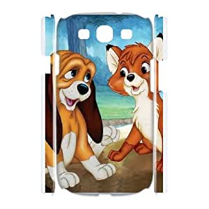Samsung Galaxy S3 I9300 Phone Case Cover The Fox and the Hound TH9868