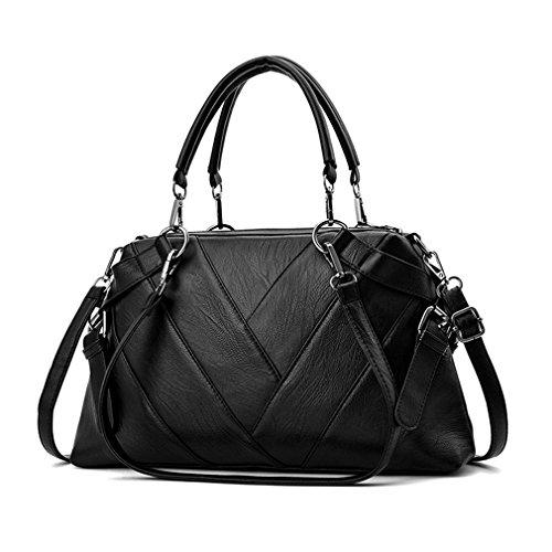 Black Bags Ladies BagsWomen Tote Handbag Women Handbags Leather Bag Shoulder vqOwaw