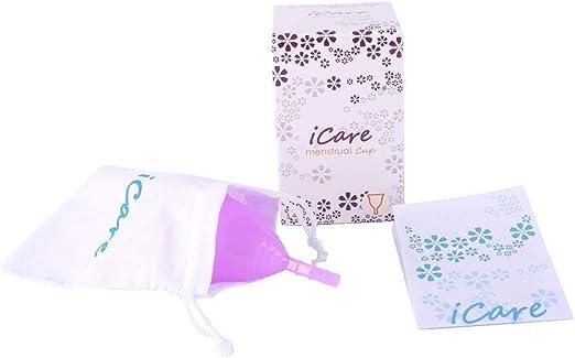 BESTHINKY Copa menstrual reutilizable, juego de 2 copas ...