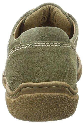 Cordones de para 680 02 Moos Derby Josef Seibel Zapatos Mujer Neele Verde IawXqT