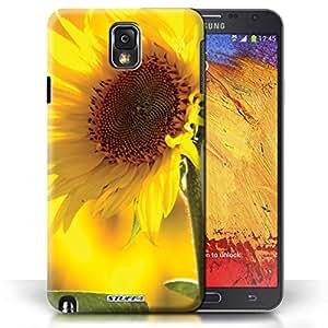Kobalt® protector duro de nuevo caso / cubierta para el Samsung Galaxy Note 3 | Flor amarilla Diseño | Floral flores jardín colección