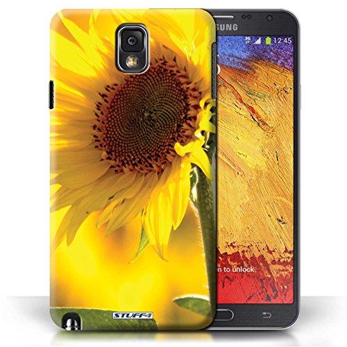 Etui / Coque pour Samsung Galaxy Note 3 / Fleur jaune conception / Collection de floral Fleurs