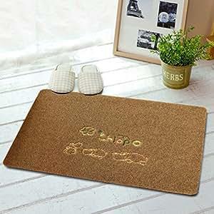 Anti-skidding mat at the door/Porch entry foyer foot pad/Mats of Bedroom door -I 40x60cm(16x24inch)