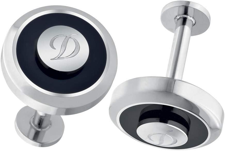 S.T. Dupont Jeton Reversible Cufflinks - Black