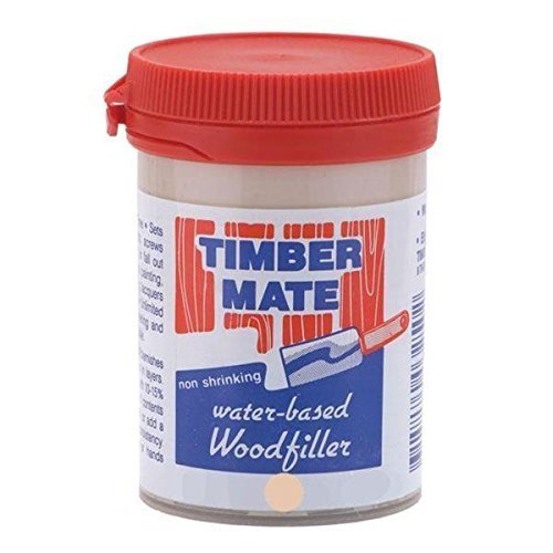 Timbermate White Oak Hardwood Wood Filler 8oz Jar (Oak Plastic Wood)