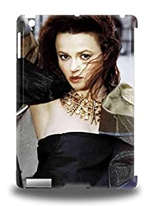 Ipad 3D PC Case Cover With Helena Bonham Carter English Female A Room With A View Fight Club Nice Appearance Compatible With Ipad Air ( Custom Picture iPhone 6, iPhone 6 PLUS, iPhone 5, iPhone 5S, iPhone 5C, iPhone 4, iPhone 4S,Galaxy S6,Galaxy S5,Galaxy S4,Galaxy S3,Note 3,iPad Mini-Mini 2,iPad Air )