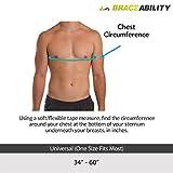 BraceAbility Rib Injury Binder Belt | Men's Rib