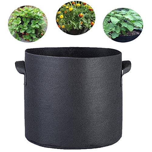 7 gallon fabric pot pack - 5