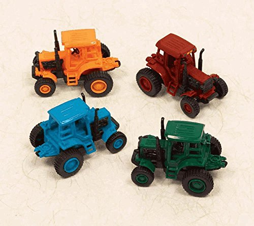 Amscan (393188) Colors Pull-Back Farm Tractor Party Favour