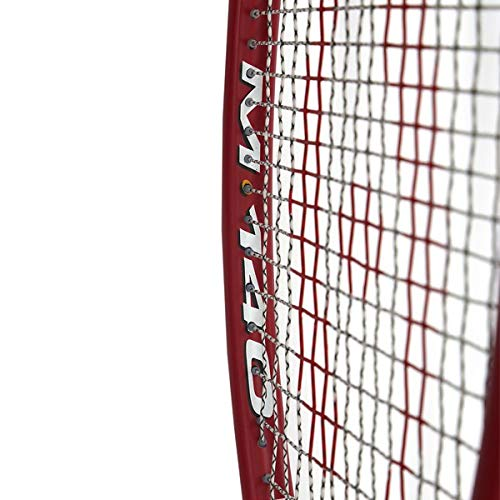 Harrow 65920502 2016 M-140 Squash Racquet, Black/Red/White