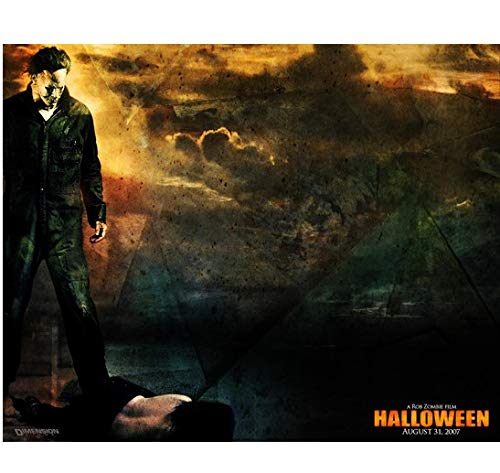 Halloween Michael Myers standing over victim promo 8 x 10 Inch -