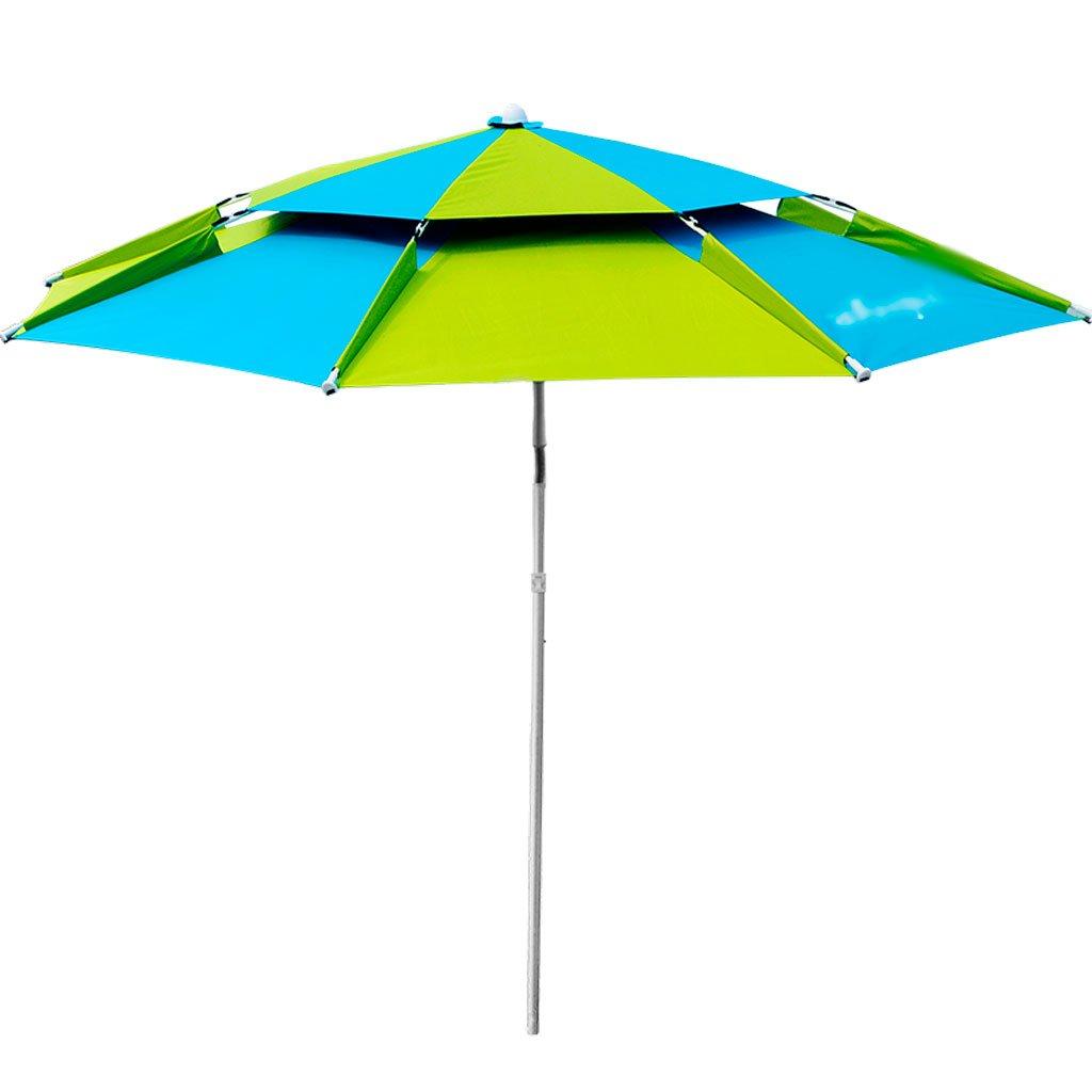 LSS 屋外アンブレラ|釣り傘|傘| 2.2m |ユニバーサル|レインコート|釣り傘|屋外アンブレラ|サン傘|釣り傘|ブラックフィッシング傘 (サイズ さいず : 220cm)   B07DB5TK1G