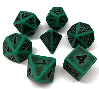 DND Dice Polyhedral Dice Sets for D&D Dungeons & Dragons MTG Role Playing Game Dice including Velvet Bags