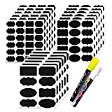 173 Pack Chalkboard Labels with 2 Chalk