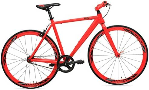 RapidCycle Evolve Fixed Gear Bike - Aluminum Flat bar (700CC)