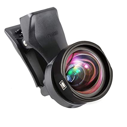 innovative design 5824d 3cfb5 Sirui SU18WAK+MSC-06 SIRUI Black Upgraded Version 18mm Mobile Phone  Auxiliary Camera Attachment Lens with Mobile Lens Clip Adapter, Wide Angle