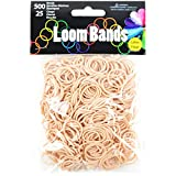 Touch of Nature Loom Value Pack, Tan, 500 Bands Plus 25 Plastic Clasps