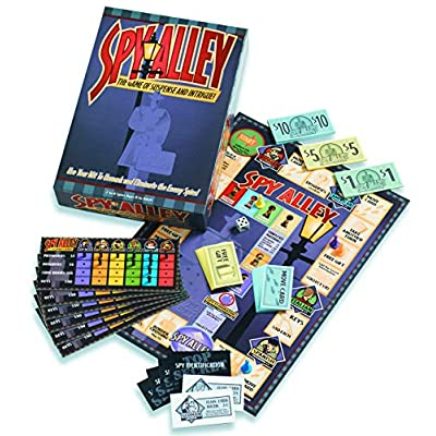 Spy Alley Mensa Award Winning Family Strategy Board Game: Toys & Games