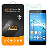 [3-Pack] Supershieldz for Huawei Ascend XT2 Tempered Glass Screen Protector, Anti-Scratch, Bubble Free, Lifetime Replacement