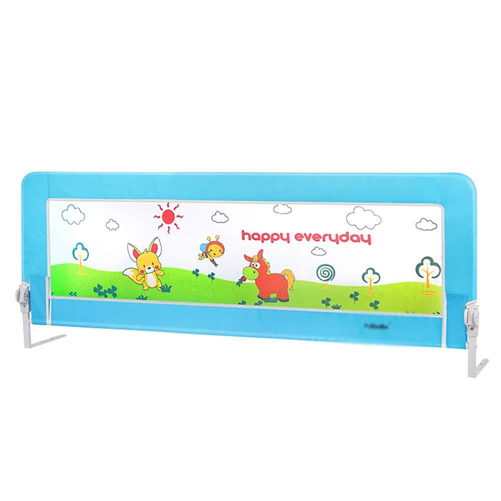 ベッドフェンス 200cmベッドレール、ポータブル折りたたみベッドレール/ダブルベッドガード幼児の赤ちゃんと子供のための安全保護ガード (色 : Style2)  Style2 B07K6GJZ91
