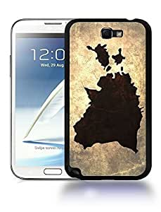 Estonia National Vintage Country Landscape Atlas Map Phone Designs For SamSung Galaxy S3 Case Cover