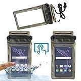 Acm Waterproof Bag Case for Honor 8 Smart Mobile (Rain,Dust,Snow & Water Resistant) Black