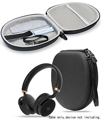 Matte Black Protective Case for JBL E55BT, E55BT Quincy Edition, E45BT; Skullcandy Hesh 3, Puro Sound, Bebe Boom, Sony MDRXB950, MDRXB650, Bose QC35, QC3, QC25, QC2, -