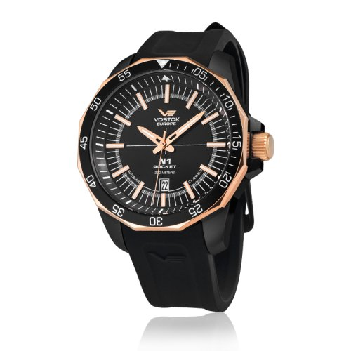 Vostok Europe Rocket NH25 Analog Black dial Men s watch - NH25A-2253148   Amazon.ca  Watches 0c0f131c8d2