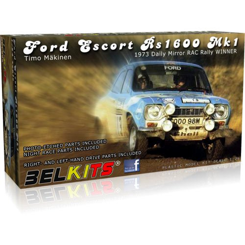 BELKITS 1:24 Ford Escort Mk1 RS1600 Clark/Mason 1972 007