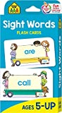 #4: School Zone - Sight Words Flash Cards - Ages 5 and Up, Early Reading, Sight Reading, Sight Words, and More