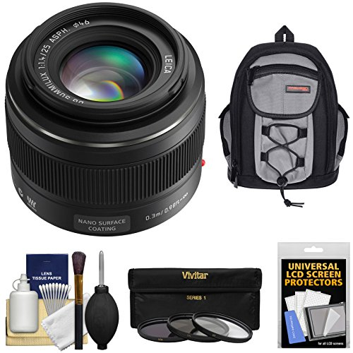 Panasonic Summilux Filters Backpack Cameras