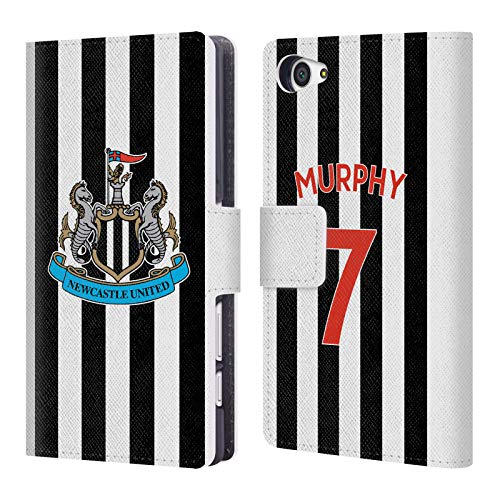 Compact Wallet Murphy (Official Newcastle United FC NUFC Jacob Murphy 2018/19 Players Home Kit Group 1 Leather Book Wallet Case Cover for Sony Xperia Z5 Compact)