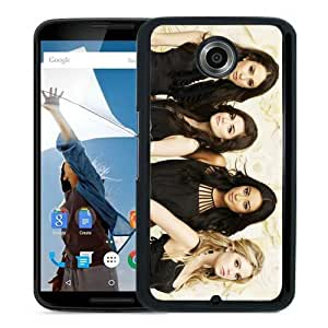 Personalized Google Nexus 6 With Pretty Little Liars Black Customized Photo Design Google Nexus 6 Phone Case
