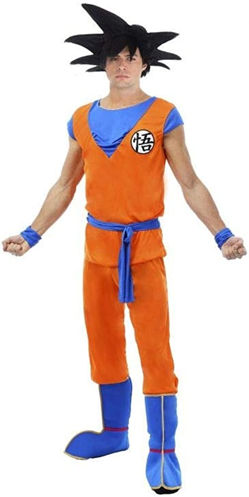 Disfraz de Hombre Dragon Ball Z Goku Anime Movie Figura Carnaval ...