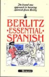 Essential Spanish, Berlitz Editors, 2831517990