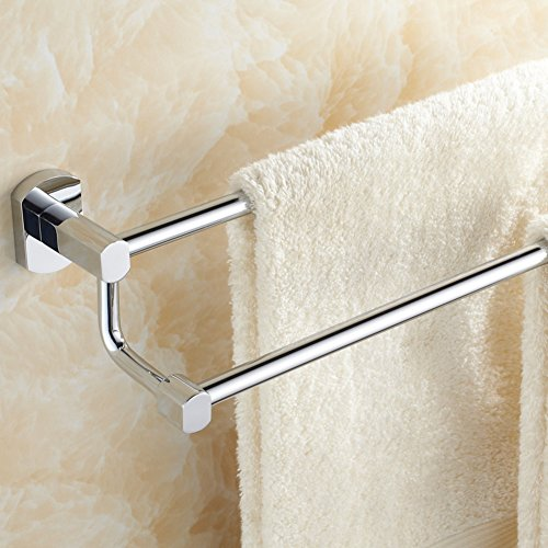70 off brass double bar towel rack bathroom double towel