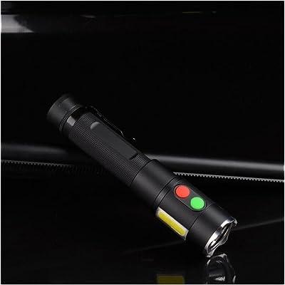 WILK-ALampe de poche nouvelle alarme lampe CREE LED multifonctions lumière alarme magnétique COB travail lumières