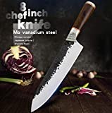 """Chef's Knife 8"""" Professional Handmade Forged"""