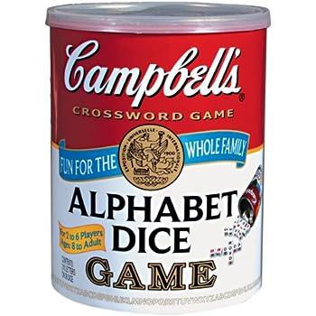 Campbell's Alphabet Dice Game