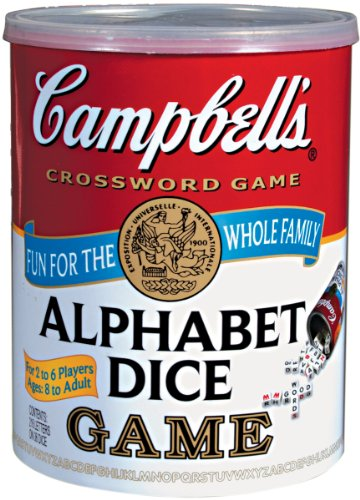 Campbell's Alphabet Dice Game (Senior Citizen Games)