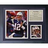 "Legends Never Die""Tom Brady Home"" Framed Photo Collage, 11 x 14-Inch"