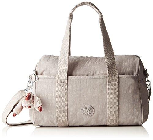 Kipling PRACTI-COOL - Bolso de hombro de material sintético mujer Gris (N Slate Grey)
