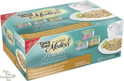 Fancy Feast Elegant Medleys - Tuscany Collection - 3 oz - 24