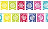 Mexican Party Flags Cinco De Mayo Cut Pl