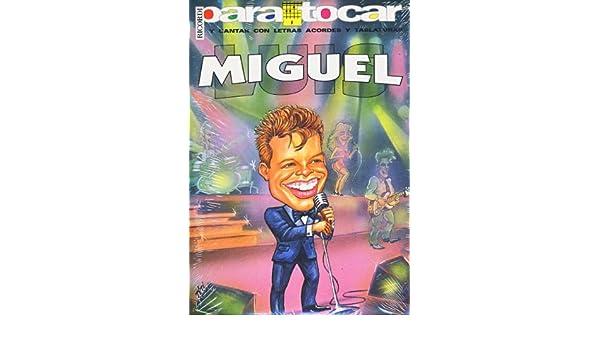 LUIS MIGUEL - Cancionero Vol.1 Letras y Acordes para Guitarra ...