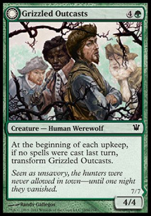 Magic the Gathering: Grizzled Outcasts (Krallenhorde Wantons) (Foil) - Innistrad
