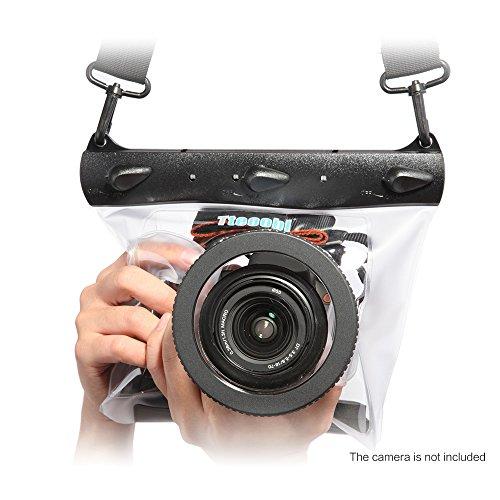 Andoer Tteoobl GQ - 518L wasserdicht Tauchen Unterwasserkamera trocken Hardcase/Tasche für Canon Nikon DSLR SLR Gehäuse